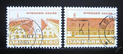 Dánsko 1981 Nyboder, Kodaň Mi# 728-29 0945