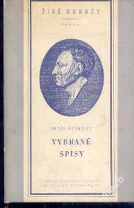 Diderot Denis VYBRANÉ SPISY  edice Živé odkazy
