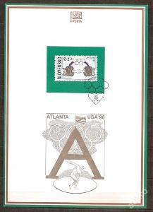 Slovensko 1996 NL23 - nálepný list