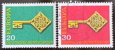 Německo 1968 Evropa CEPT Mi# 559-60 0384