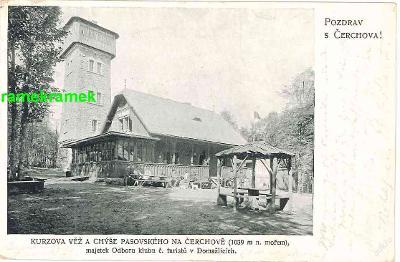Čerchov rozhledna Česká Kubice Domažlice Kdyně)