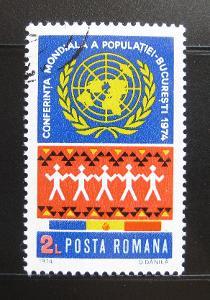Rumunsko 1974 Svět. rok populace Mi# 3218 0218