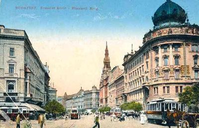Maďarsko ,Budapest  - tramvaj