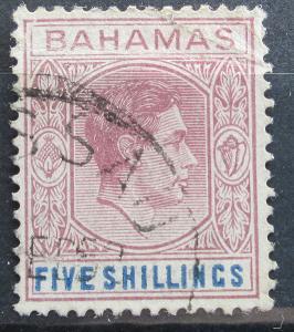 Bahamy 1942 Král Jiří VI. Mi# 118 b Kat 17€ 1148