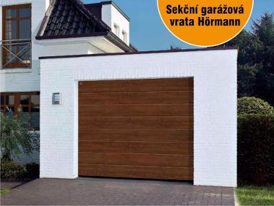 SEKČNÍ GARÁŽOVÁ VRATA HÖRMANN 5,0 x 2,125 m