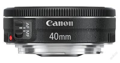 Akce! Objektiv Canon EF 40mm f/2.8 STM