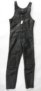 Kožené kalhoty s laclem GERMOT v. 46 - pas: 78 c
