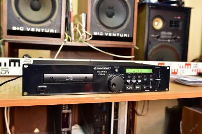 Omnitronic CDP-430 cd přehrávač k servisu nenačítá