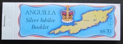 Anguilla 1977 Stříbrné jubileum, sešitek