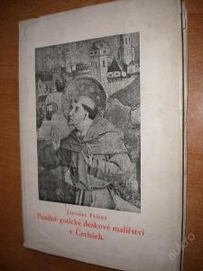 Pešina - Pozdně gotické malířství v Čechách - 1940