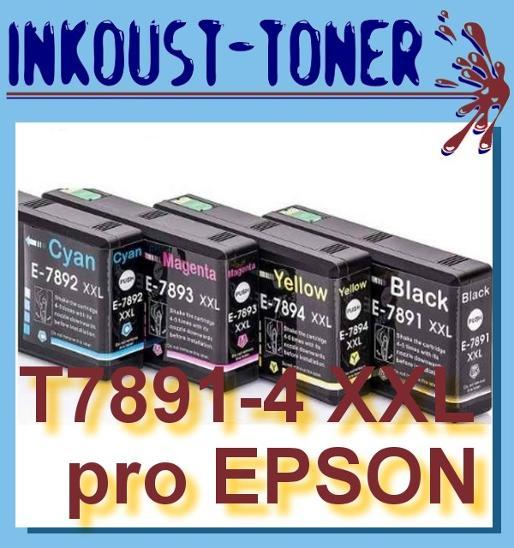 Sada pro Epson WorkForce Pro WF-5110 a WF-5190 4ks - Příslušenství k PC