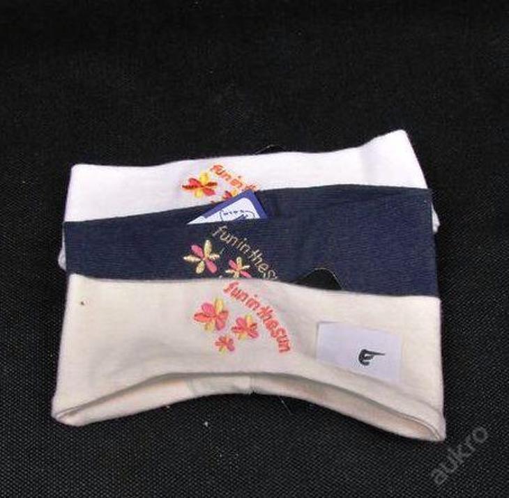 Čelenka - 3 ks, vel. 92/122 (ČEL -  E) - Oblečení