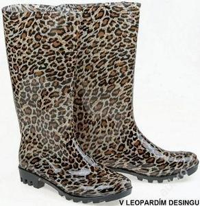 Luxusní leopardí holínky vel. 36,37,38,39,40-329kč