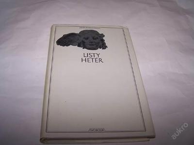 LISTY HETER /kolektiv  r.1970 antická/Pz22/
