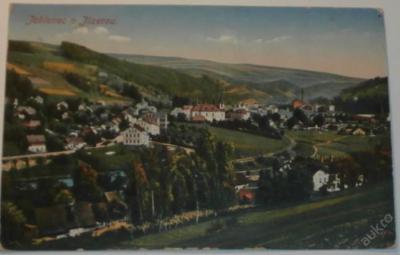 Jablonec n. Jizerou 1921 celkový pohled  (color)