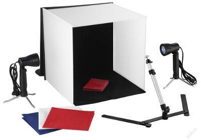 Petricard | Foto set - Difuzní světelný foto stan 40x40x40 cm