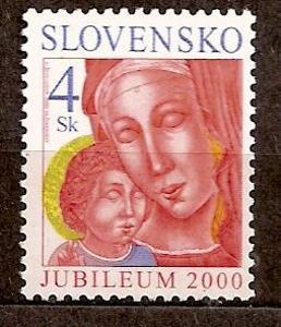 Slovensko 2000 kat.č.Mi379/Zb219