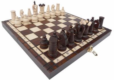 šachy dřevěné Royal mini 152 mad 222152