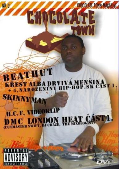 DVD Drvivá menšina + 4. narozeniny hiphop.sk H.C.F. /Skinny Man / DMC - Hudba