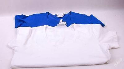 Tričko dámské  -  2 ks, vel. XL - 48/50 (FO0780)