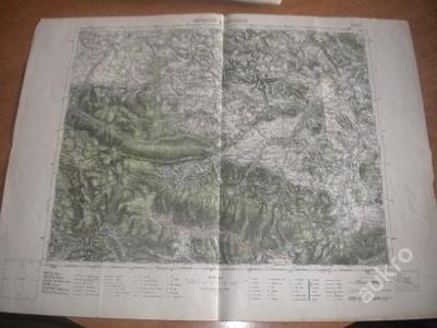 mapa Harrachov - 1:75 000