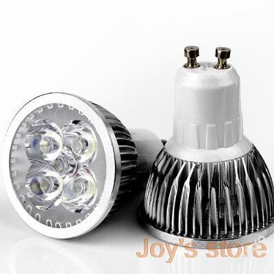 Vysoce svítivá LED žárovka GU10 5W 220V teplá b.