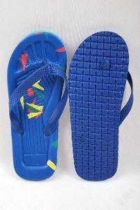 Plážové žabky modré , vel. 42 ( 0975 )