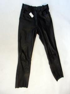 Kožené kalhoty GERMOT vel. 38 - obvod pasu: 70 c