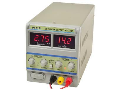 Laboratorní napájecí zdroj 30V 5A PS-305D mA/A