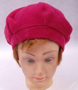 Dětská  čepice , baret  - vel. 54 /56  (Č 047 )