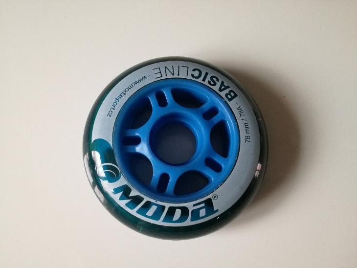 INLINE KOLEČKA MODA BASIC LINE 78 mm / 78A - Skateboard, in-line, koloběžky