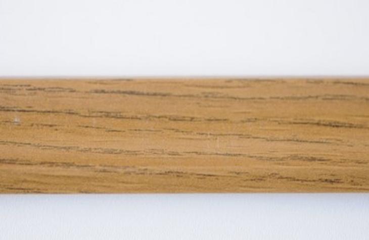 Lišta rohová 210 cm, dekor ořech (12330) S - Nábytek