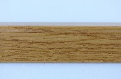 Lišta rohová 210 cm, dekor dub (12338)