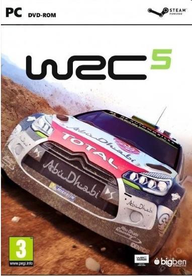 WRC 5 - NOVÁ -  PC DVD - Hry