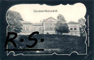 Barca kaštieľ 1907 - Košice , koláž