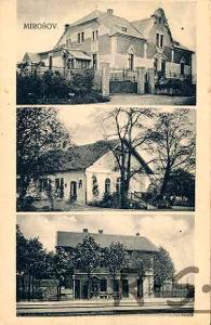 Mirošov 1925 - Rokycany , mj. nádraží  /ža/