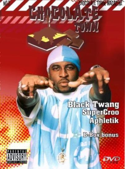 HIP HOP DVD Chocolate No. 2 BLACK TWANG Super Croo APHLETIK B - Box  - Hudba