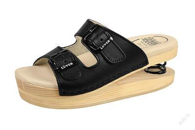 Zdravotní obuv Primavera Luver černá