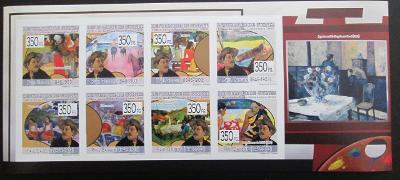 Guinea 2009 Umění, Paul Gauguin, neperf 0212