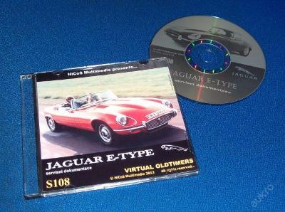 JAGUAR E-type servisní příručka katalog údržba