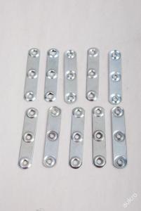Kovový závěs pro skříňky 10ks - (4234)