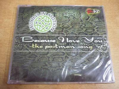 CD WORLD IN MOTION - Because I Love You (Postman)