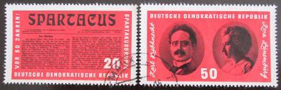 NDR 1966 Organizace Spartacus Mi# 1154-55 0415