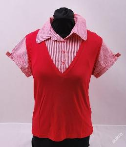 Tričko dámské, kr. rukáv, vel.  S (FO0353)