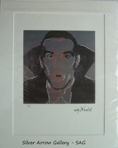 Andy Warhol - Dracula - barevná litografie