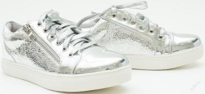 Luxusní stříbrné tenisky vel.36,37,38 - POSLEDNÍ PÁRY SKLADEM
