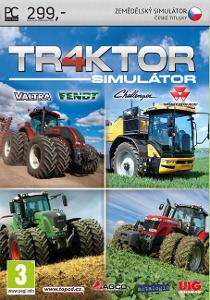 TRAKTOR SIMULÁTOR 4 - PC DVD - ČESKÉ TITULKY - NOVÁ