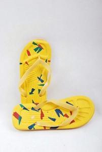 Plážové žabky žluté , vel. 44 ( 0979 )