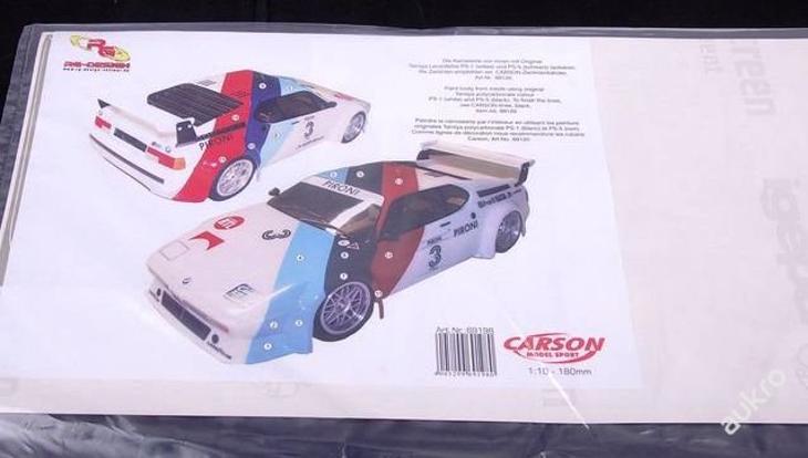 69198 Polepy BMW 1:10 CARSON - Modelářství