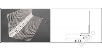 rohový profil PVC a perlinka vertex - 25ks(50m)